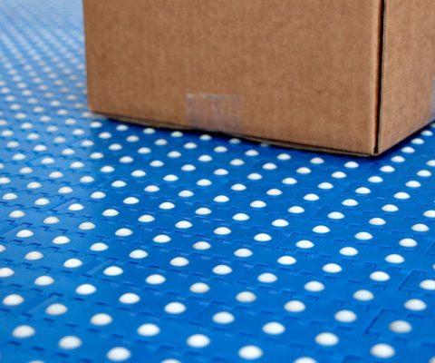 Correas modulares para la industria del embalaje